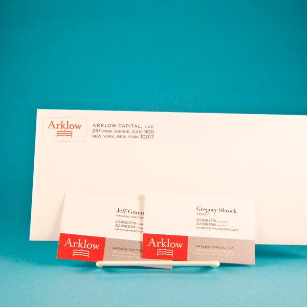 Arklow envelope and business cards