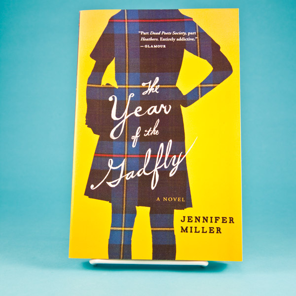 The Year of the Gadfly by Jennifer Miller book, front